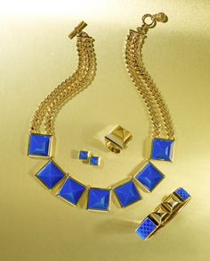 These cobalt blue baubles from Michael Kors are key for The Collector trend