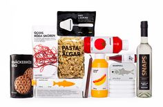 Ikea food packaging by Stockholm Design Lab