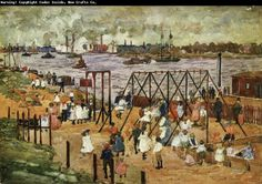 Maurice Prendergast The East River
