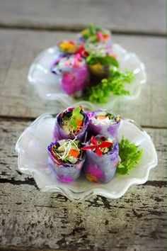 Spring roll from Blue Lagoon Koh chang Thai Cooking School Healthy Thai Recipes, Raw Food Recipes, Koh Chang, Chang Thai, Birthday Party Snacks, Thai Dessert, Brunch, Food Menu, Appetizer Recipes