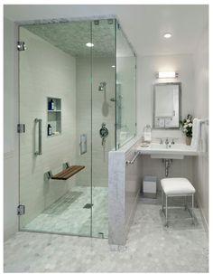 Accessible Barrier Free Aginginplace Universal Design Bathroom - Bathroom remodel for disabled