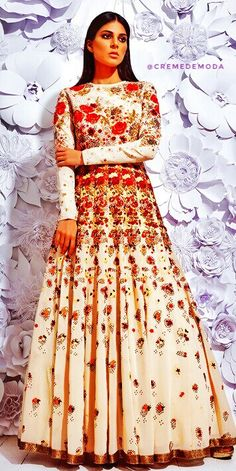 #Lehenga @CremeDeModa Indian Anarkali, Anarkali Dress, Anarkali Suits, Lehenga, Pakistani, Dress Indian Style, Indian Dresses, Indian Outfits, Indian Fashion