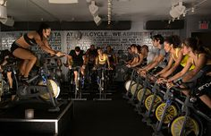 The best spinning classes in NYC, whether you want to jam out to awesome music, work on your fitness or try the latest trendy workout Group Fitness Classes, Fitness Studio, Spin Bike Workouts, Fun Workouts, Workout Classes, Exercise Cardio, Exercise Plans, Morning Workouts, Swimming Workouts