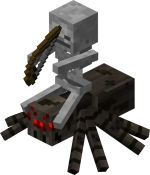 Google Image Result for http://www.minecraftwiki.net/images/thumb/e/ee/Spider_Jockey.png/150px-Spider_Jockey.png