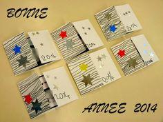 Le Journal de Chrys: Une carte BONNE ANNEE