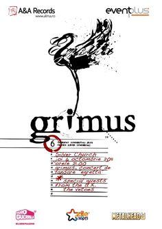 "GRIMUS - Lansarea albumului ""Egretta"" | tscarena.ro Alternative Rock Bands, Concert, Events, Album, Concerts, Card Book"