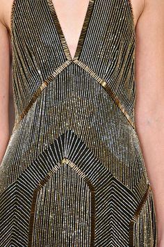 Fab detail.   Ralph Lauren Fall/Winter 2012 collection.  #NMFallTrends