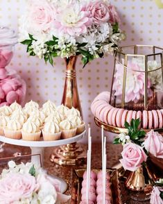 Monday morning:  Planning my 25th birthday party  Theme: Pink  . . . Youre all invited  Bring a pink balloon flower or something else  . . . : karaspartyideas.com 30th Birthday, Birthday Brunch, Birthday Cake Girls, High Tea, Boho, Pink And Gold, Candy Table, Princess Party, Flower Arrangements