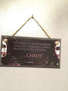 The Joker plaque by LightspeedCrafts on Etsy