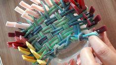 DIY : fabriquer son Tawashi (éponge zéro déchet) - Nous et les minibouts Reuse Recycle, Fruit Of The Loom, Agriculture, Bubbles, Diy, Crochet, Gifts, Upcycled Crafts, Diy Crafts