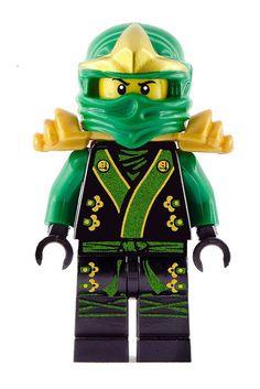 LEGO Black Ninja | Lego Ninjago Green Black Kimono Ninja Lloyd BIG Peel and Stick ...