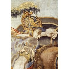 Detail Mortlake Tapestry Perseus and Andromeda; The Horses Designed by Cleyn, Francis | V&A Search the Collections