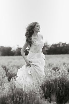 Cotton Flower: Ruche Lookbook - Lace and Lavender. #rusticwedding