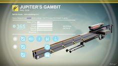 Jupiter's Gambit (Exotic Heavy Sniper)