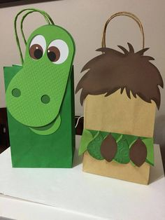 Good Dinosaur Inspired Goody Bags 8 Bags by LoluParty on Etsy