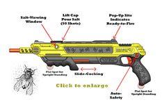 Rifle matamoscas con balas de sal   La Guarida Geek