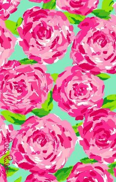 Lilly Pulitzer iPhone wallpaper
