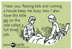 Being a working mum is full on - but also very rewarding :-)