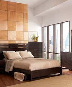 Tahoe Noir bedroom furniture collection from Macy's