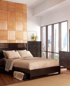 Tahoe Noir Bedroom Furniture Collection @Macys