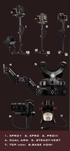 Steadicam XPRO+ with Dual Arm Vest(build in HDMI)_Stabilizer_DE CINEMAKIT/Steadicam vest arm/Fluid Monopod/dslr rig/Jib  $1062.00