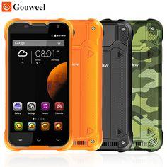 원래 Blackview BV5000 휴대 전화 5.0 인치 쿼드 코어 스마트 폰 2 기가바이트 RAM 16 기가바이트 ROM 안드로이드 5.1 듀얼 SIM 방수 전화