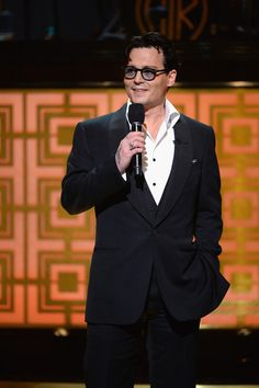 Actor Johnny Depp speaks onstage at Spike TV's 'Don Rickles: One Night Only' on May 6, 2014 in New York City.