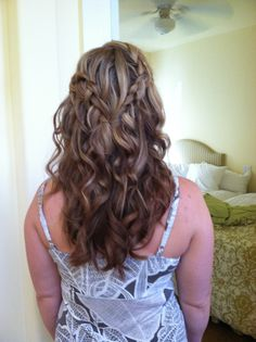 wedding style hair by T