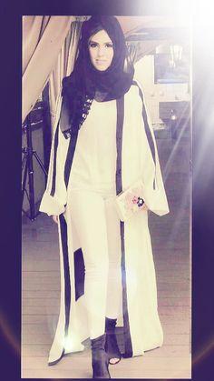Abayas, Duster Coat, Jackets, Fashion, Down Jackets, Moda, Fashion Styles, Fashion Illustrations, Jacket