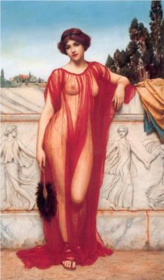 Athenais+-+John+William+Godward