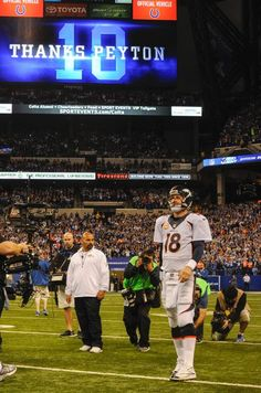 The great Manning!