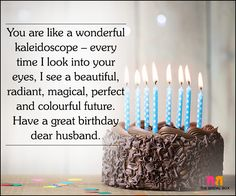 Love Quotes For Husband On His Birthday - My Crystal Ball