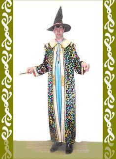 kostým čaroděj tajemný, půjčovna Ladana