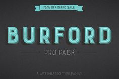 Font of the day: Burford | Typography | Creative Bloq