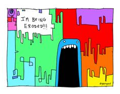 Eroded | Gapingvoid Art Insurance Agency, Insurance Marketing, Independent Insurance, Fresh, Logos, Gallery, Inspiration, Art, Biblical Inspiration
