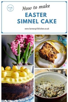 How to make Easter Simnel Cake, an easy one-bowl fruitcake featuring a layer of marzipan inside and another on top of the cake. Simnel Cake Easter, Easter Recipes, Holiday Recipes, Sweet Recipes, Cake Recipes, Scotland Food, Burns Supper, Scottish Recipes, Unique Cakes