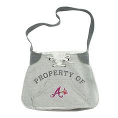 Atlanta Braves (and other MLB teams) hoodie sweatshirt sling purse. $21.95 FREE SHIPPING