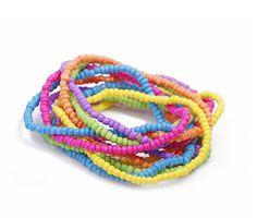 Colorful BOHO Style Multi-layer beaded Strands Mixed Bracelet - Bracelets - Watches & Jewelry Free Shipping
