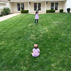 Big sister. Little sister. Photographer• Little shooter • Little poser • Little birds
