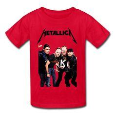 Kid's Vintage Metallica T-shirts By Mjensen Medium