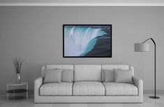 horseshoe falls niagara falls waterfall ontario new york Fine Art Photography, Niagara Falls, Ontario, Waterfall, York, Furniture, Etsy, Home Decor, Decoration Home