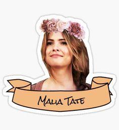 'malia tate flower crown sticker' Sticker by lunalovebad Jeep Stickers, Cute Stickers, Polaroid Frame Png, Teen Wolf Art, Malia Hale, Teen Wolf Memes, Wolf Girl, Aesthetic Stickers, Scott Mccall