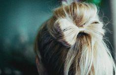 bow hair. ahh must learn how!