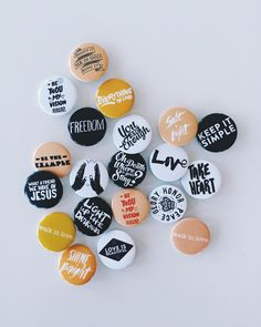 Happy Saturday everybody!! You can still use the code SAVEEXTRA50 and receive 50% off all buttons stickers prints and coasters! #walkinlove #walkinlovebuttons