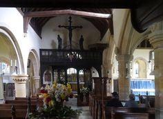 Church nave of St Michael, Stanton