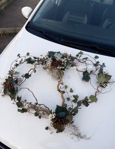 Décoration de voiture mariage
