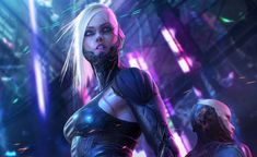 Pangeen — cyberclays: Cyberpunk - by Soufiane Idrassi Cyborg Girl, Female Cyborg, Female Art, Cyberpunk Girl, Cyberpunk 2077, Futuristic Motorcycle, Futuristic Art, Robot Girl, Battle Royale