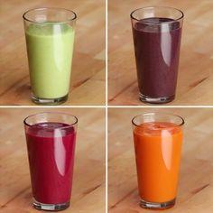 Veggie-Packed Smoothies 4 Ways