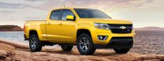 The new 2015 Chevy Colorado, in MY color!  Yes, I've always been a Ford girl but I want this truck, color and all! -DNP