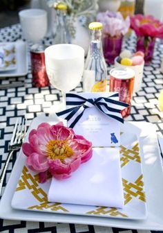 The French Tangerine: ~ february table inspiration